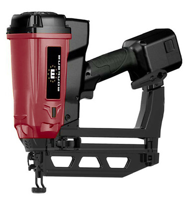 MONTANA GB16-64 BATTERY GAS FINISH NAILER - FIRES 16 GAUGE BRAD NAILS 25-64mm