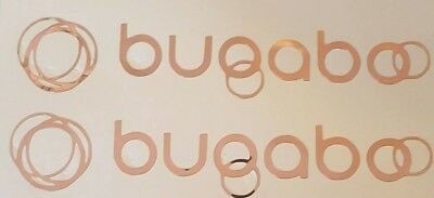 Bugaboo Custom Pram Decals Rose Gold