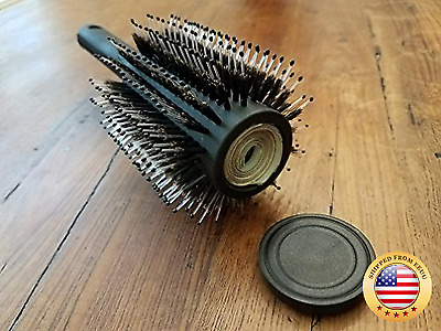 Hair Brush Diversion Safe Stash with Smell Proof Bag by Stash-it - Can Safe - S