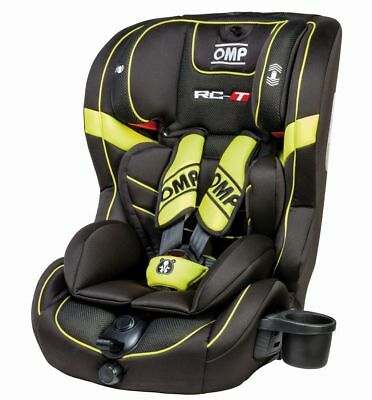 OMP RC-T Child Baby Seat Black/Yellow ECE Approved RCT Kids