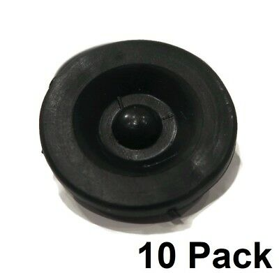 (10) New RUBBER GREASE PLUG Hub Dust Caps for Dexter EZ Lube Trailer Camper Axle