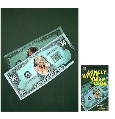 GREENLEAF Original Cover Painting LONELY WIVES SWAP CLUB, by Robert Bonfils