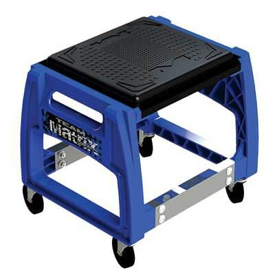New Matrix M50 Mechanics Rolling Chair Service Tool Pit Stand Mx Motorcycle Blue