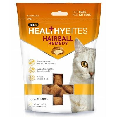 VETIQ Hairball Remedy Cat Treats (BT305)