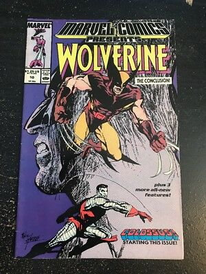 Marvel Comics Presents#10 Awesome Condition 7.5(1989) Colossus,Man-Thing!!