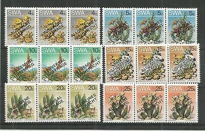 S.w.a 1978 Universal Suffrage Sg,324-329 Un/mm Nh Lot 6785A