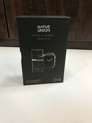 Native Union DOCK for Apple Watch (Marble Edition)