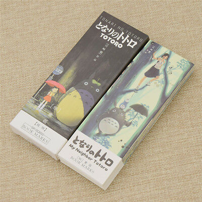 32 Pcs/Pack My neighbor Totoro Bookmark Book Mark Stationery Office Accessories