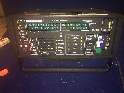 JDSU TTC FIREBIRD 6000A Communications Analyzer Opts 6001 6003 6010