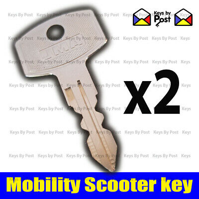 2 x SPARE SHOP RIDER  Mobility Scooter Ignition on off key SHOPRIDER
