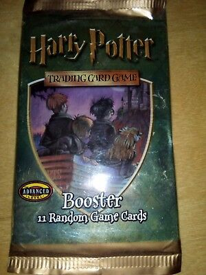 1 Booster HARRY POTTER Trading Card Game NEU & OVP