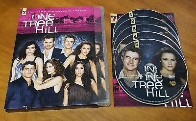 One Tree Hill: The Complete Seventh Season (DVD, 5-Disc Set) 7 tv show series