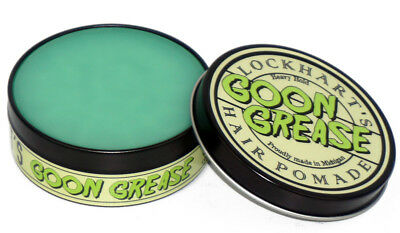 LOCKHART'S Goon Grease Heavy Hold High Sheen Hair Sandalwood Pomade 4Oz NEW