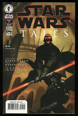 Star Wars Tales 9 Comic Darth Vader vs Darth Maul in a Duel to the Death! Sith