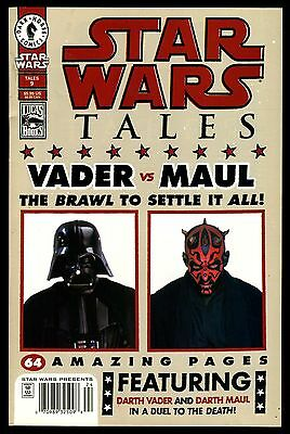 Star Wars Tales 9 Variant Comic Darth Vader vs Darth Maul in a Duel to the Death