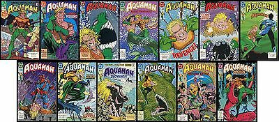 Aquaman 1991 DC Series Full Comic Set 1-2-3-4-5-6-7-8-9-10-11-12-13 Lot  Batman