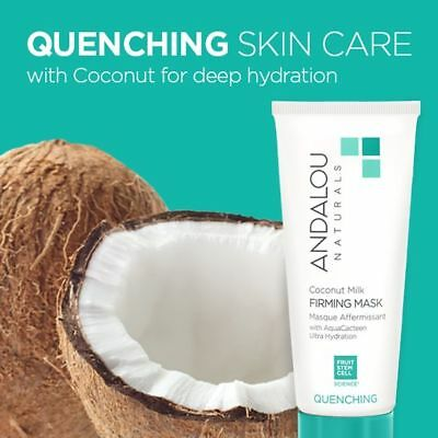 Andalou Naturals from the Quenching Coconut Skin Care Line