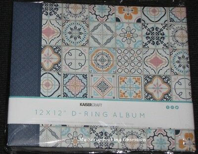 "Kaisercraft 12x12"" D-Ring 'HAVANA NIGHTS' Album +10 Sheets Patterns KAISER"