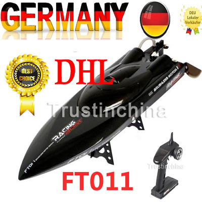Feilun FT011 65CM 2.4G Brushless RC Boat High Speed Racing Boat With Battery DE!