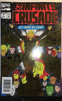 Marvel Comics The Infinity Crusade Let There Be Light Avengers Assemble