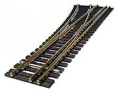 Points Left Gauge 2 (64 mm) and G Scale Length 800 mm. R=3 000 mm,15 +