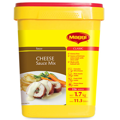 Maggi Classic Cheese Sauce Mix 1.7Kg - Free Post!