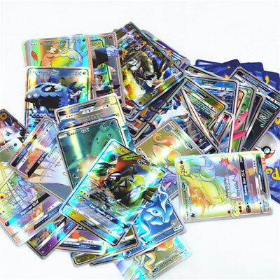 60pcs Pokemon GX Card Holo Flash Trading Card Rare No Repeat Hot Sale