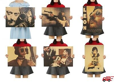 Leon The Professional Poster Classic Movie Poster Wall Sticker Bar Livingroom