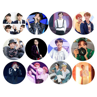 KPOP BTS J-HOPE Hand Mirror Bangtan Boys Image Round Mirror Birthday Goods