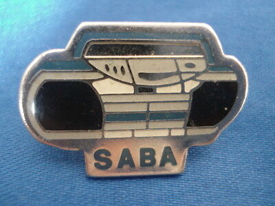 PINS SABA ELECTROMENAGER MULTIMEDIA TV RADIO VINTAGE PIN'S wxc j