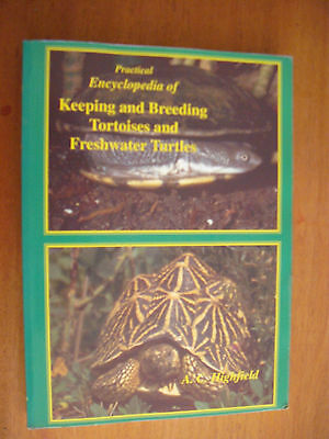 Encyclopedia of keeping and breeding Tortoises, Highfield, Schildkrötenbuch