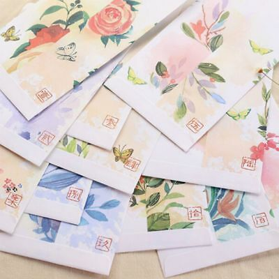 5 PCs/lot Stationery Diy Cover Paper Chinese Style Forest Deer Envelopes