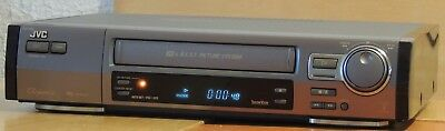 JVC Elegance HR-E249 VHS Hifi Stereo Video Player + Remote