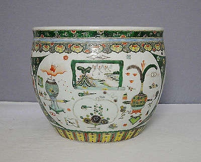 Chinese  Wu-Cai  Porcelain  Jar  With  Mark     M1397