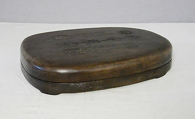 Large  Chinese  Ink  Stone  With  Wood  Box      M2104