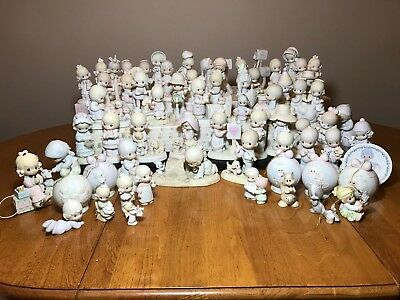Lot of Precious Moments from Personal Collection -72 pieces  Excellent! REDUCED!