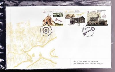 Canada 1998 FDC sc# 1755 (a-i) Housing in Canada, set of 3 covers in PO pkg
