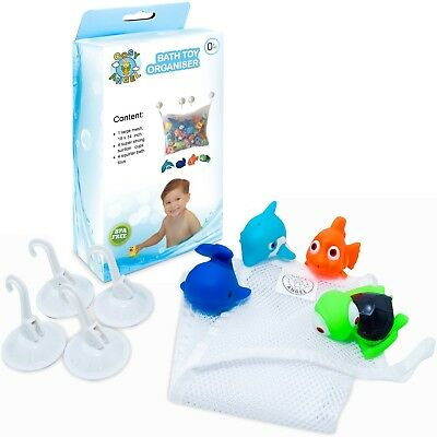 cm Bath Time Kids Water Fun Play Toy Toddler Hearty 4x Baby Squirting Ducks 23.6x9x4.8
