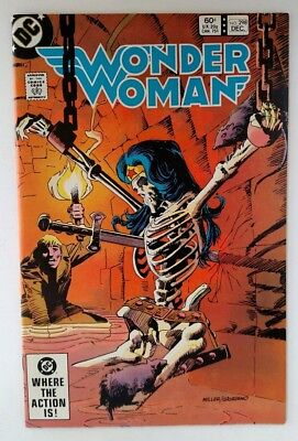 Wonder Woman #298 (FN/VF) Frank Miller cover! Huntress story! DC 1982