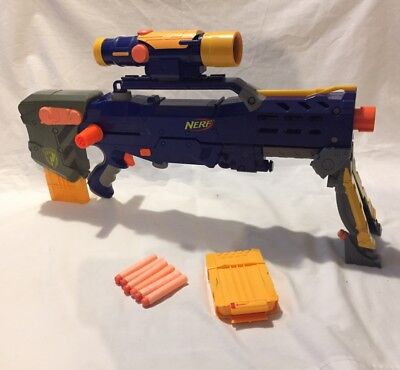 NERF Longshot CS-6 N-Strike Gun Rifle With Scope