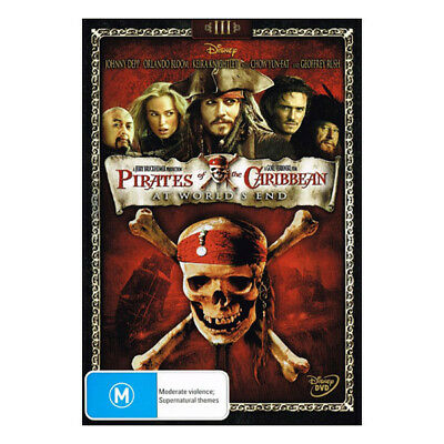 Pirates of the Caribbean 3: At World's End DVD New Johnny Depp, Orlando Bloom