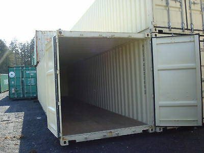 40' Modified Shipping Container, Permitted by most counties as on site storage