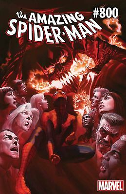 🕷 AMAZING SPIDER-MAN #800 Cover A Alex Ross - HOT - 🕷 - PRESALE