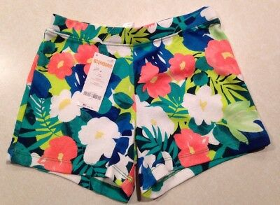 Gymboree Girls Tropical Flower Knit Shorts Mix N Match Size 8 New With Tags NWT