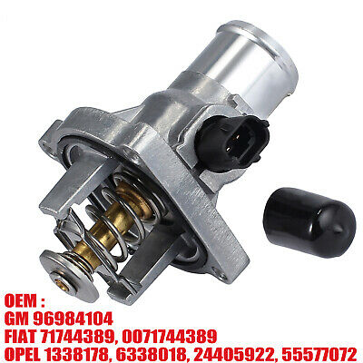 Coolant Thermostat 96984104 For Vauxhall Opel Astra G H Meriva Vectra C Zafira