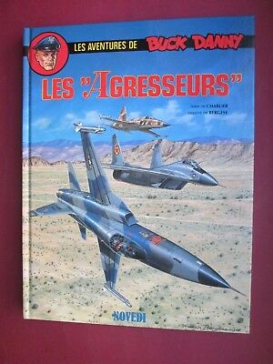 Bergese  Buck Danny 44 Les Agresseurs  Eo 1988 Comme Neuf