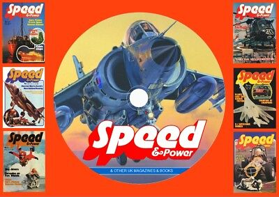 Speed & Power & Other UK Magazines & Books On DVD Rom