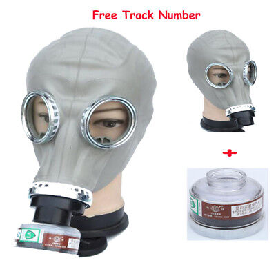 2 in1 Painting Spray Military soviet Full Face gas mask Respirator Filter mask