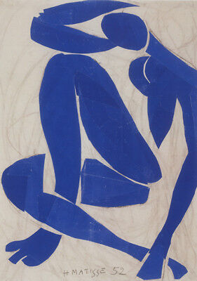 Blue Nude    by Henri Matisse  Giclee Canvas Print Repro