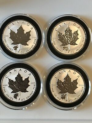 2016 & 2017 Canadian Reverse Proof Maple Wild Canada Series